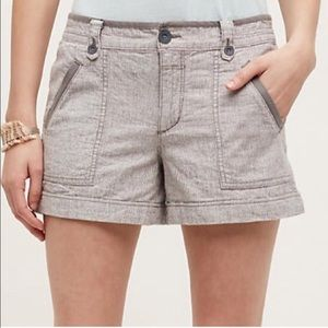 Anthropologie Gray Shorts